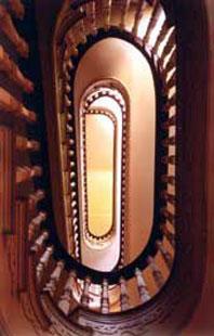 Mayhurst Inn Spiral Staircase