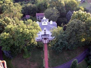 Mayhurst Inn View From Balloon