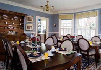 Carolina Bed & Breakfast Dining Room