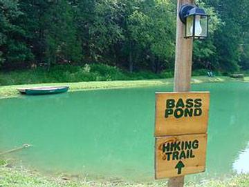 Berry Springs Lodge Bass Pond
