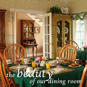 Brierley Hill Bed & Breakfast Beautiful Dining Room