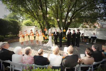 Maridor Bed & Breakfast, Outside Weddings