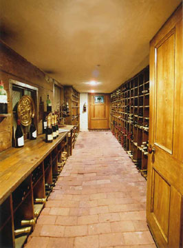 Prospect Hill Plantation Inn Wine Cellar