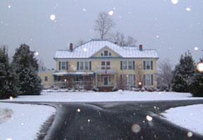 The Mark Addy Bed & Breakfast Inn snow day