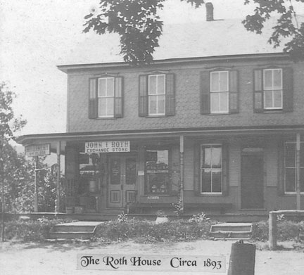 The Roth House- A Country Bed  & Breakfast, The Roth House Circa 1893