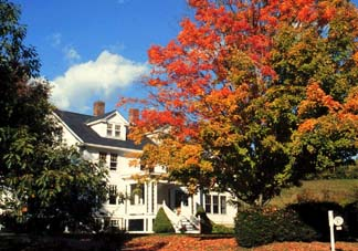 The Trumbull House Bed & Breakfast front