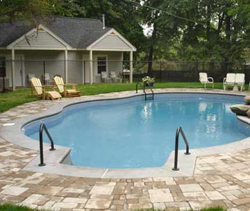 Hampton Terrace Bed and Breakfast, swimming pool