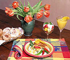 Hacienda Nicholas Bed and Breakfast-Santa Fe Cuisine With An Organic Overtone