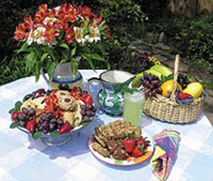 Hacienda Nicholas Bed and Breakfast-Fully Organic Breakfast Buffet