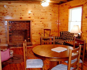 Hunter's Run Lodge Bed & Breakfast Fireplace