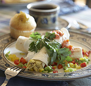 Rhythm of the Sea, A Cape May Bed & Breakfast, Breakfast Burrito