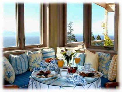 The Highland Inn of San Juan Island, breakfast