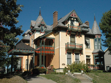 Beiderbecke Bed & Breakfast - Davenport, Iowa, front