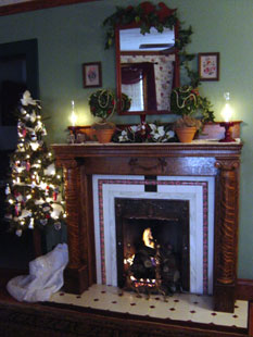 The Harkins House Inn, Fireplace