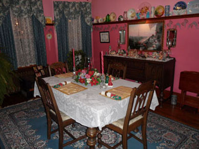 The Harkins House Inn, Dining Room