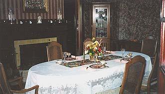 Top O' The Morning Bed & Breakfast Inn dining room