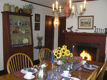 Riverwind Inn Bed and Breakfast, Dining Room