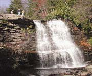 Carmel Cove Inn at Deep Creek Lake, Waterfall