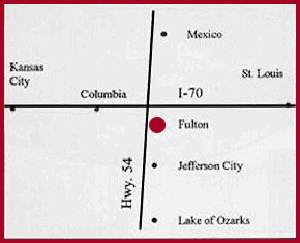 Loganberry Inn Map of fulton
