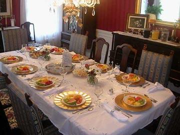 Fuquay Mineral Spring Inn & Garden Dining Room