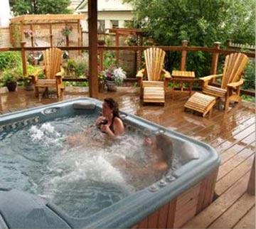 Alaska's Capital Inn Bed & Breakfast - Juneau, Alaska, Relax in the Hot Tub