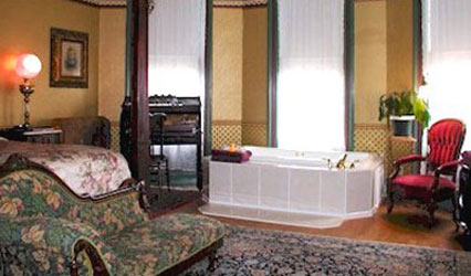 DeLano Mansion Bed & Breakfast, Two-person Whirlpool