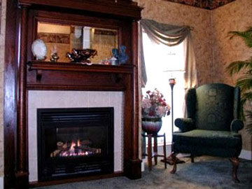 DeLano Mansion Bed & Breakfast, Relax By The Cozy Fire