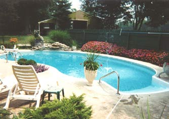The Huntington Bed & Breakfast, Swimming Pool