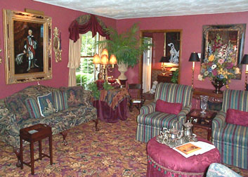 The Huntington Bed & Breakfast, Living Room