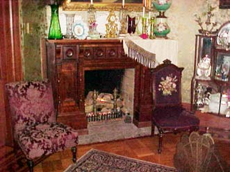 Gables Bed and Breakfast Turret Fireplace