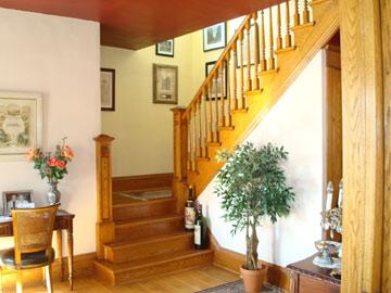 The Magic Door Bed & Breakfast staircase