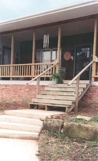 Walnut Acres Bed & Breakfast porch