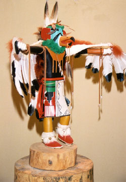 Heward House at Holbrook Bed & Breakfast, Kachina doll