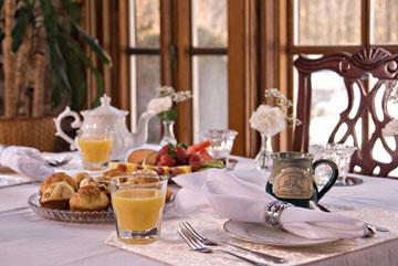 Breakfast at Clamber Hill Inn & Restaurant breakfast