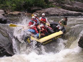 Beechwood Inn Guests Rafting