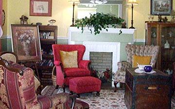 Butterfly Breeze Bed & Breakfast, Living Room