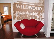 Summer Nites '50's Theme' Bed & Breakfast, lobby