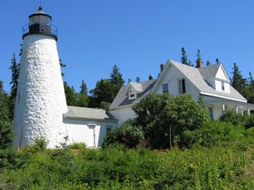 Pentagoet Inn B&B Light house