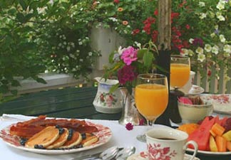 Pentagoet Inn B&B Breakfast at the Pentagoet
