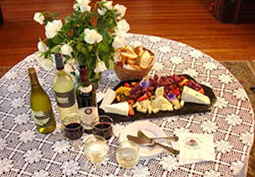 Churchill Manor Bed and Breakfast, Evening Wine Reception