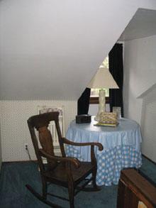 Dormer Room-Sitting Area
