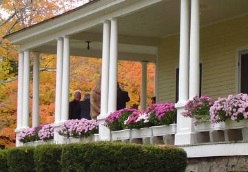 The Rose Cottage Bed & Breakfast porch
