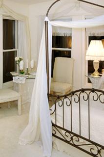 Romantically Draped Canopy Canopy Bed