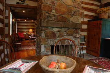 Enjoy Breakfast by the Cozy Fire