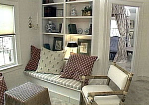 Mary Van's 'This Old House' Bed and Breakfast-Reading nook