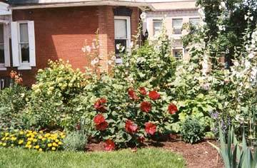 Bechtel Victorian Mansion Bed & Breakfast Inn Gardens