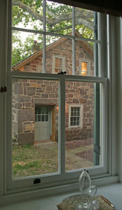 Speedwell Forge B&B Summer Kitchen Suite window