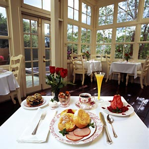 England House Bed and Breakfast food
