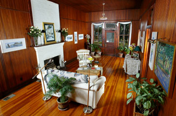Magnolia Springs Bed & Breakfast Great Hall