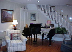 Belhaven Water Street Bed & Breakfast, Ltd living room